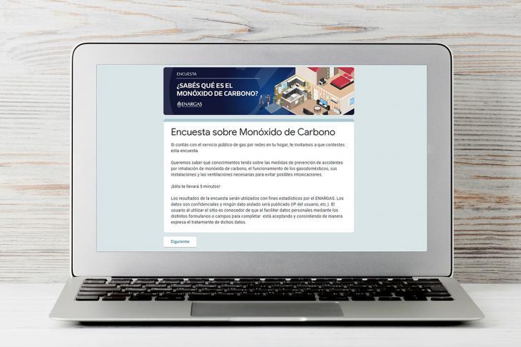 ENARGAS publicó una encuesta sobre medidas para la prevención de accidentes por inhalación de Monóxido de Carbono